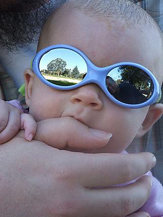 Nia in shades