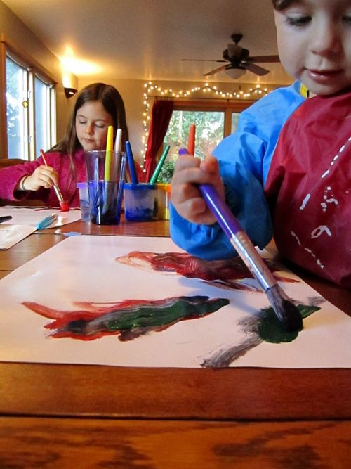 Painting with z