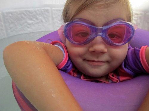 Goggles girl